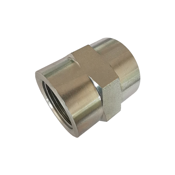 5000 SERIES hot sale Taper Pipe Threads NPTF Hex Coupling