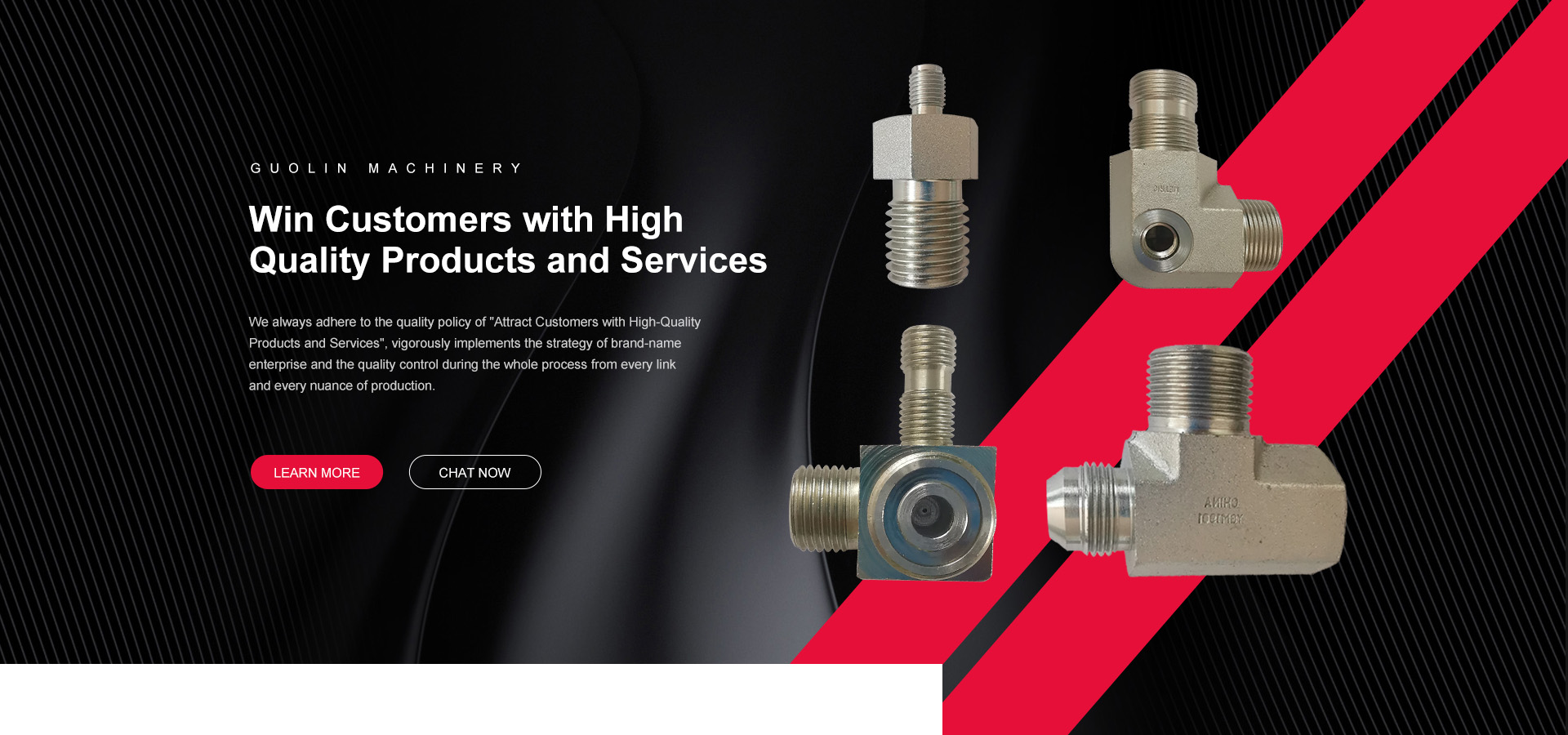 What are the widely used standards for hydraulic accessories